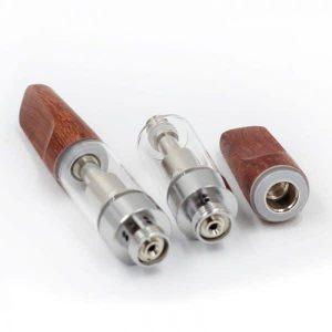 Wooden Ccell Style Type Oil Cartridge